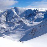 esquí de montaña en el pirineo aragonés. Casteret