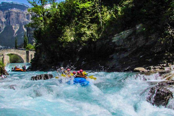 Rafting Río Ara - Casteret
