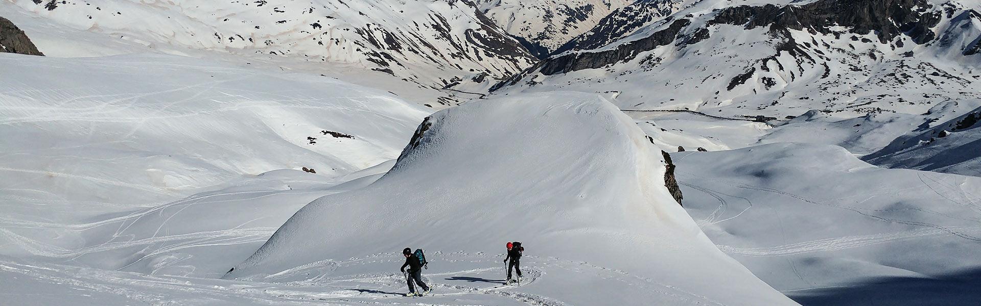 Curso de esquí de travesía