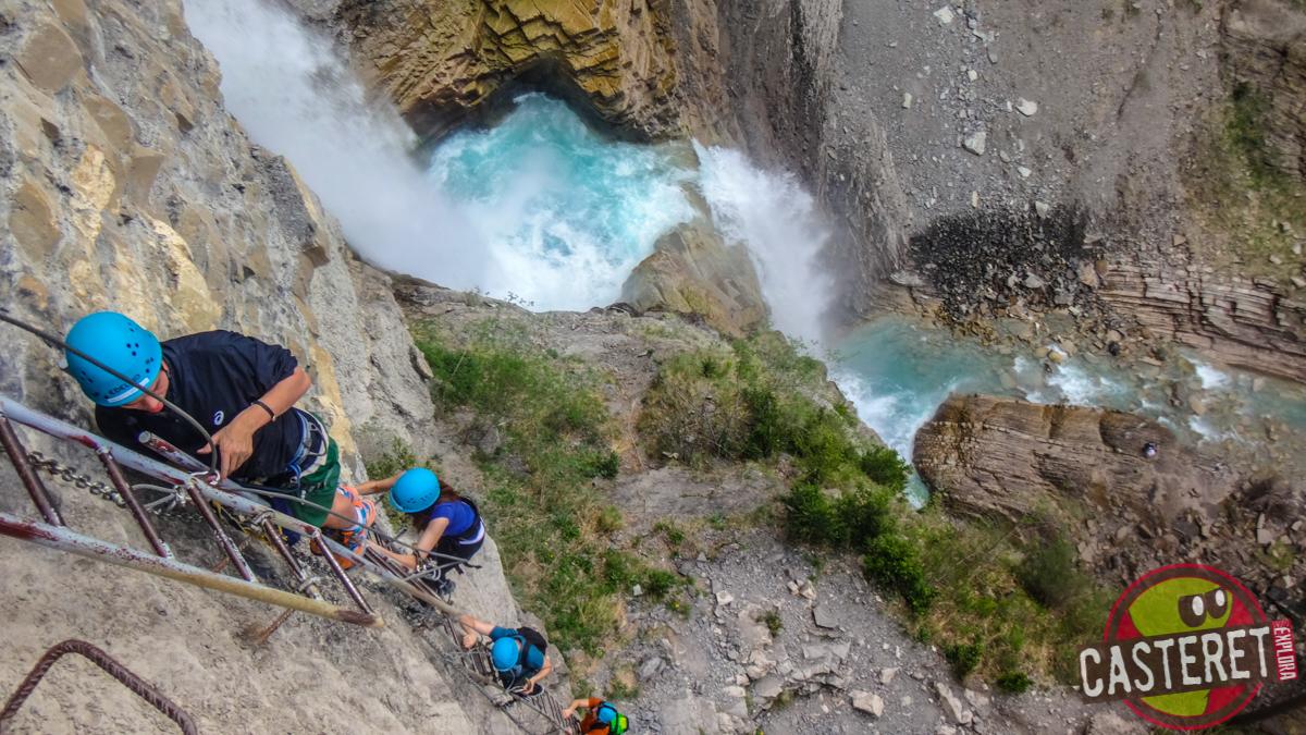 Vía Ferrata de la Cascada de Sorrosal – Broto