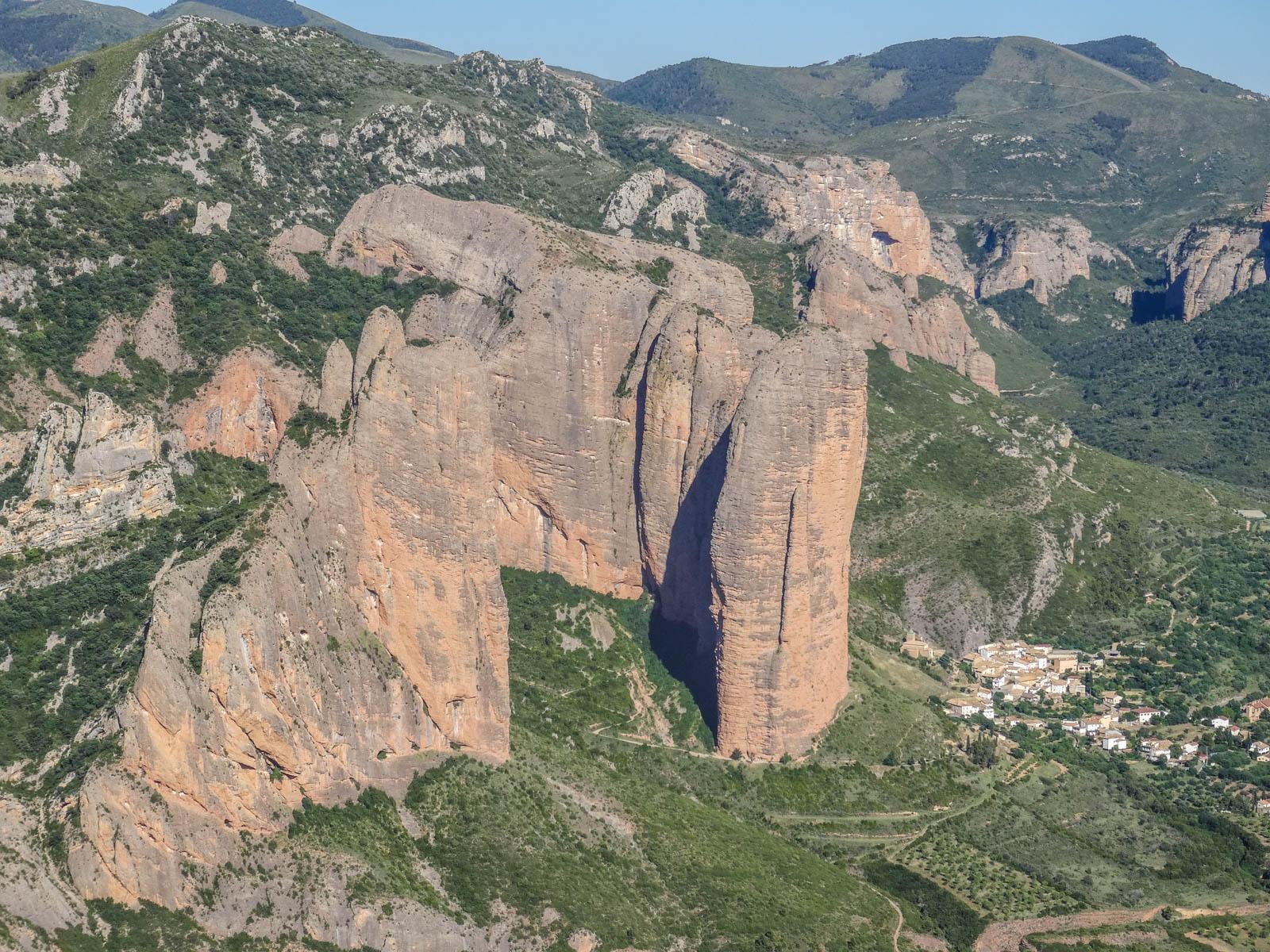 Escalada en roca: Peña Rueba: Galliguera