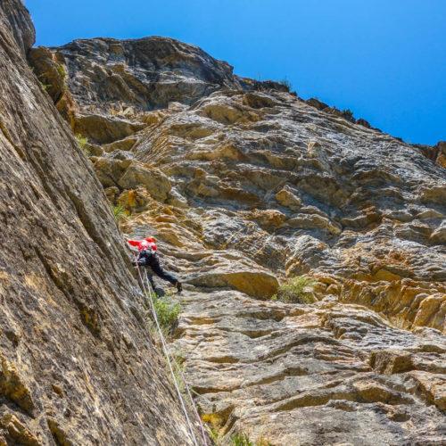 escalada en roca - casteret