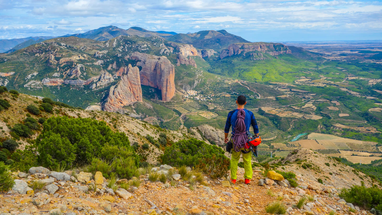 Escalada en roca: Espolón de Poniente