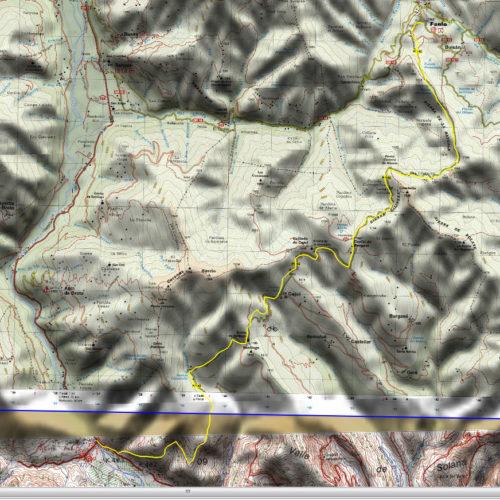mapa - ruta autoguiada