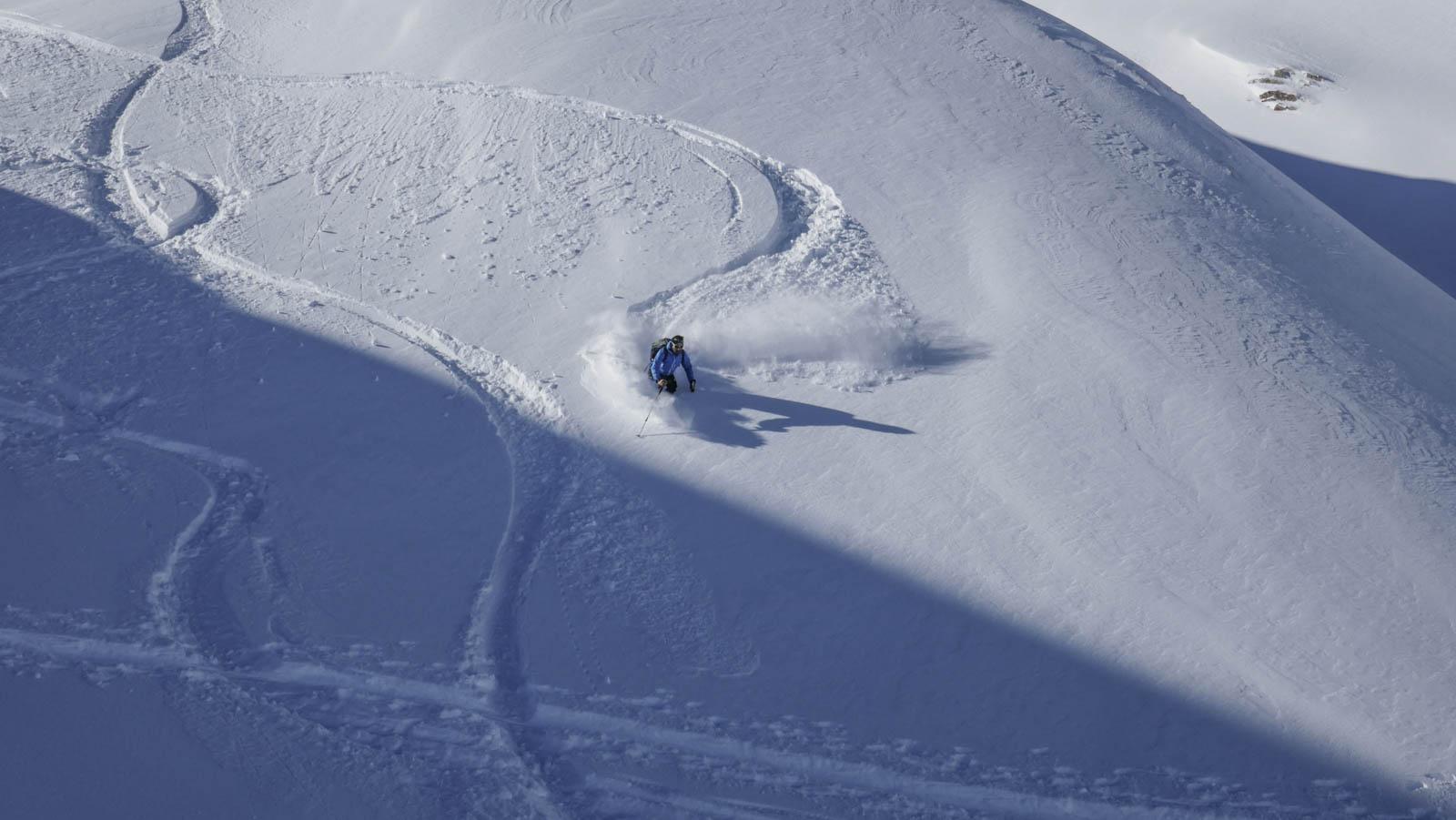 Portalet: Peña Blanca y Canal Roya con esquís de montaña