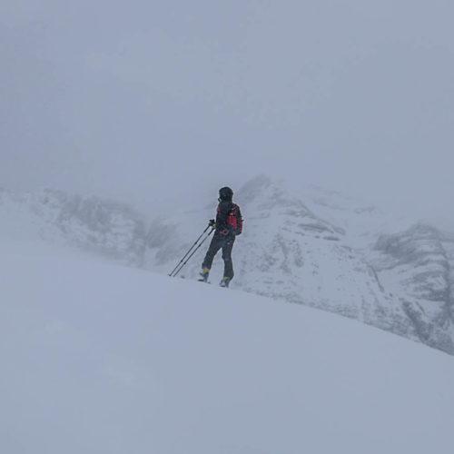 faceras o el verde con esquí de montaña