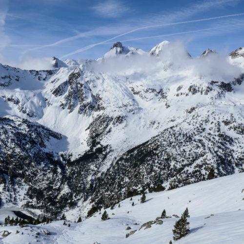 esquí de montaña - balneario de panticosa