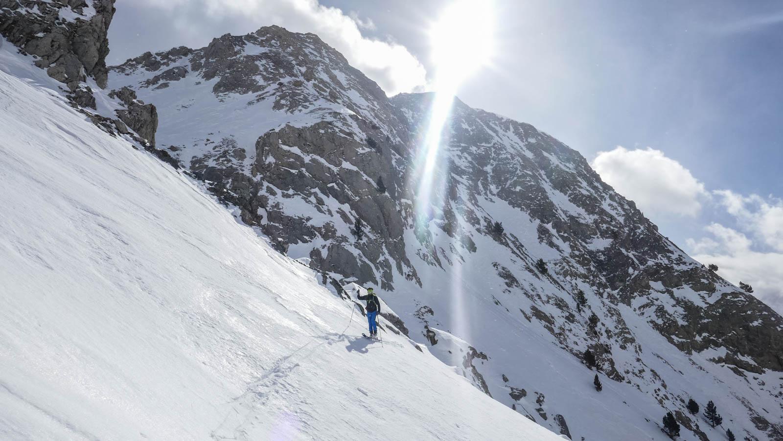 De La Sarra a La Cubetilla con esquí de montaña