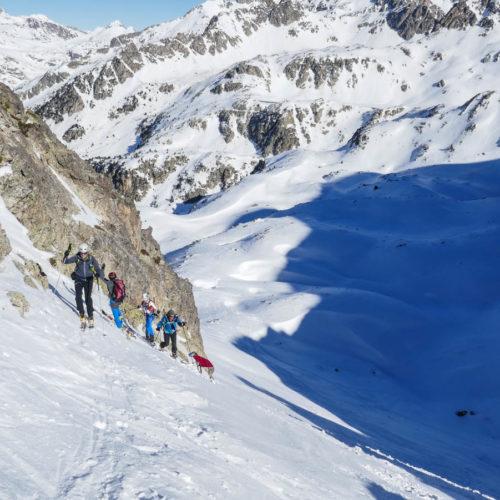 esquí de montaña en el Balneario de Panticosa