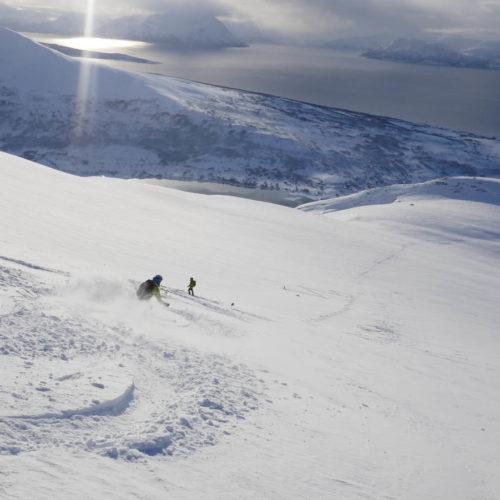 esquí de montaña en noruega