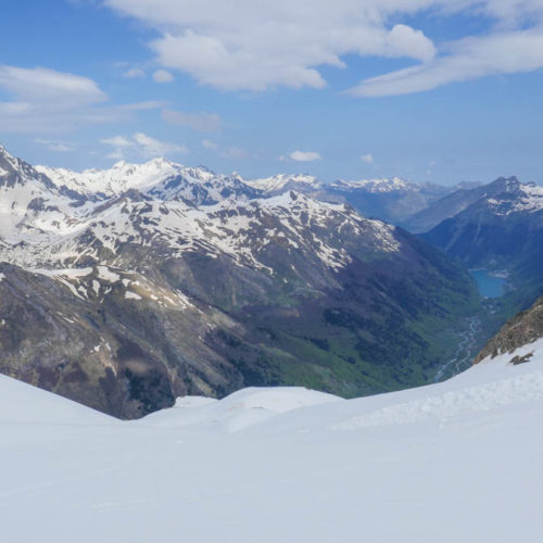 Circular L'Ourade - Ferraturas. Esquí de montaña