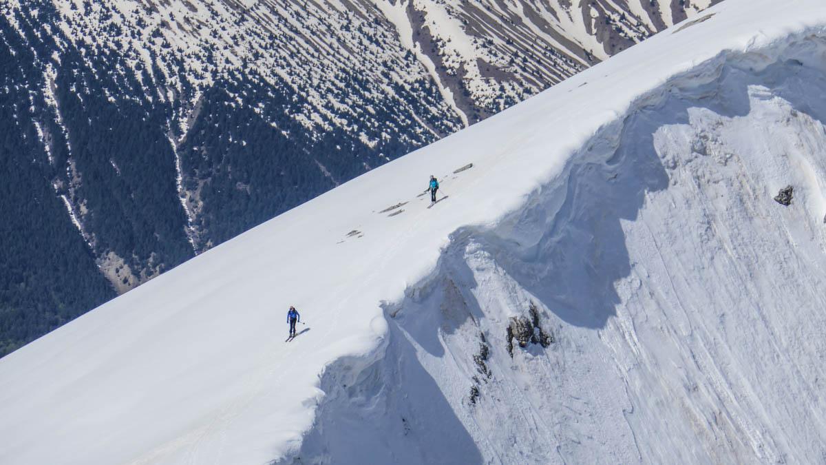 Peña Blanca, Peña Roya y Mandilar. Esquí de montaña