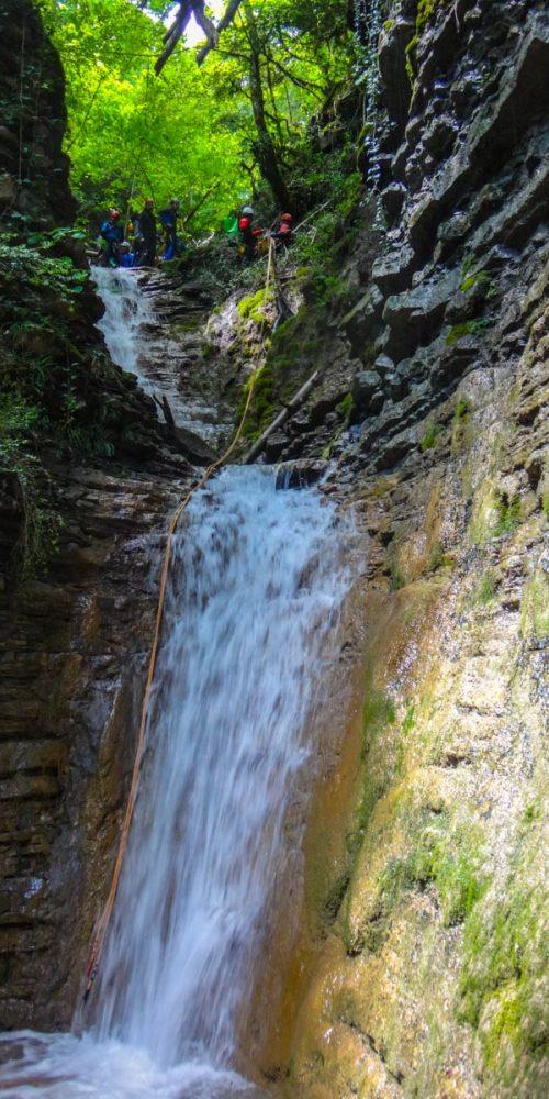 Descenso de barrancos nivel 2. San Martín de Ara