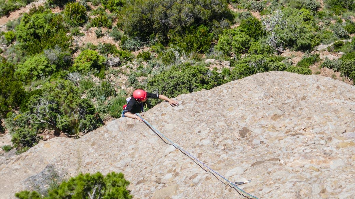 Escalada en Roca. Peña Rueba (Murillo de Gállego)