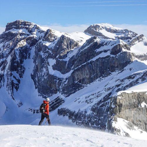 Esquí de travesía en Ordesa: Casco y Torre de Marboré